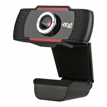 USB Webcam 0.3M pixels HD 480P Video Recording Camera Live Web Cameras for Microsoft HP Computer with Microphone Online Webcams