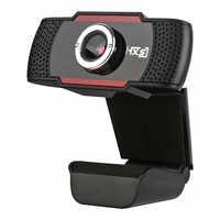 Cámara Web USB de 0,3 M píxeles, grabación de vídeo HD, 480P, en vivo, para Youtube, Microsoft, ordenador con micrófono