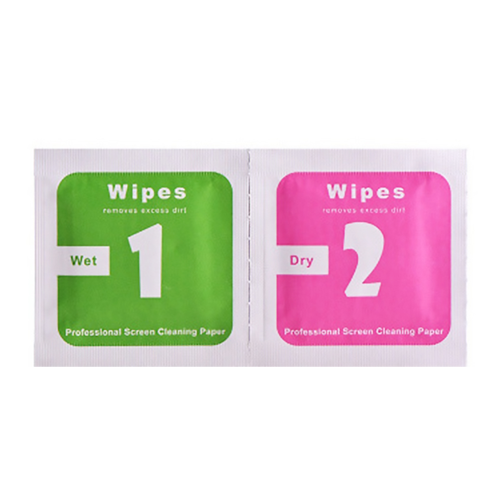 200pcs Camera Lens Wipes Alcohol Cleaning Cloth Screen Dust Removal Paper