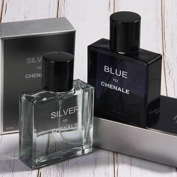 Blue ZOO 50ml Men Perfume Romantic Elegant Ocean Wood Long-lasting Fresh Fragrance Perfume
