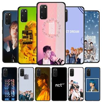 Phone Case for Samsung Galaxy S20 FE S20 Ultra A51 A71 A50 A70 A10 A30 A31 A41 M31 M51 Soft Cover coreano guapo chico NCT image
