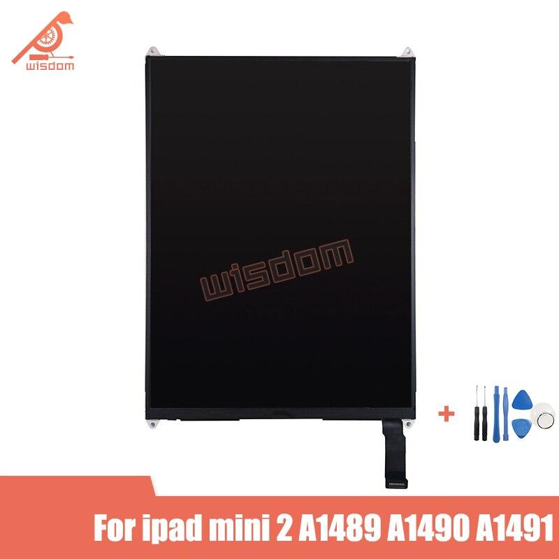 Полный новый для ipad mini 2 mini 3 A1489 A1490 ЖК-дисплей модуль монитора Замена mini2 mini3 бесплатные инструменты протестированный ЖК-дисплей
