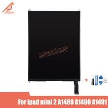 Новинка для ipad mini 2 mini 3 A1489 A1490, сменный модуль ЖК-дисплея экрана монитора mini2 mini3, бесплатные инструменты, протестированный ЖК-дисплей
