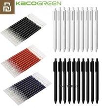 Kaco 펜 0.5mm 코어 내구성 서명 펜 리필 검정 잉크