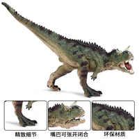 Jurajski symulacja krowa bydło smok mięso dinozaur statyczny Model dinozaura zabawka Overlord bydło smok solidny plastikowy Model