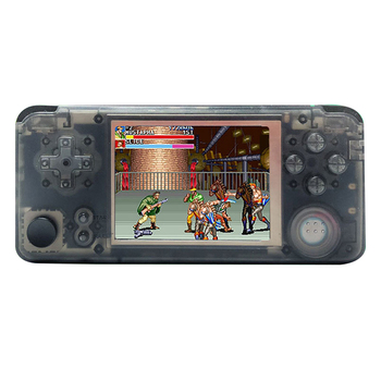 Rs97 Plus Double System Retro Game Console 30+ Emulators IPS Screen Portable Handheld Game Player 360 Degree Controller