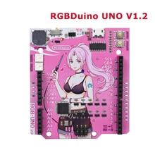 RGBDuino UNO V1.2 Jenny Development Board ATmega328P Chip CH340C VS Arduino UNO R3 Upgrade For Raspberry Pi 4  Raspberry Pi 3