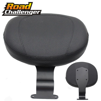 Motorcycle Front Driver Rider Backrest Leather Cushion Pad For Yamaha Bolt XV950 XVS950 2014-2019 2015 2016 2017 2018
