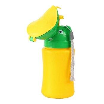 Baby Girl Travel Urinal Pot PP Smooth Odorless Useful Reusable Portable Toilet Training Travel Urinal Potty