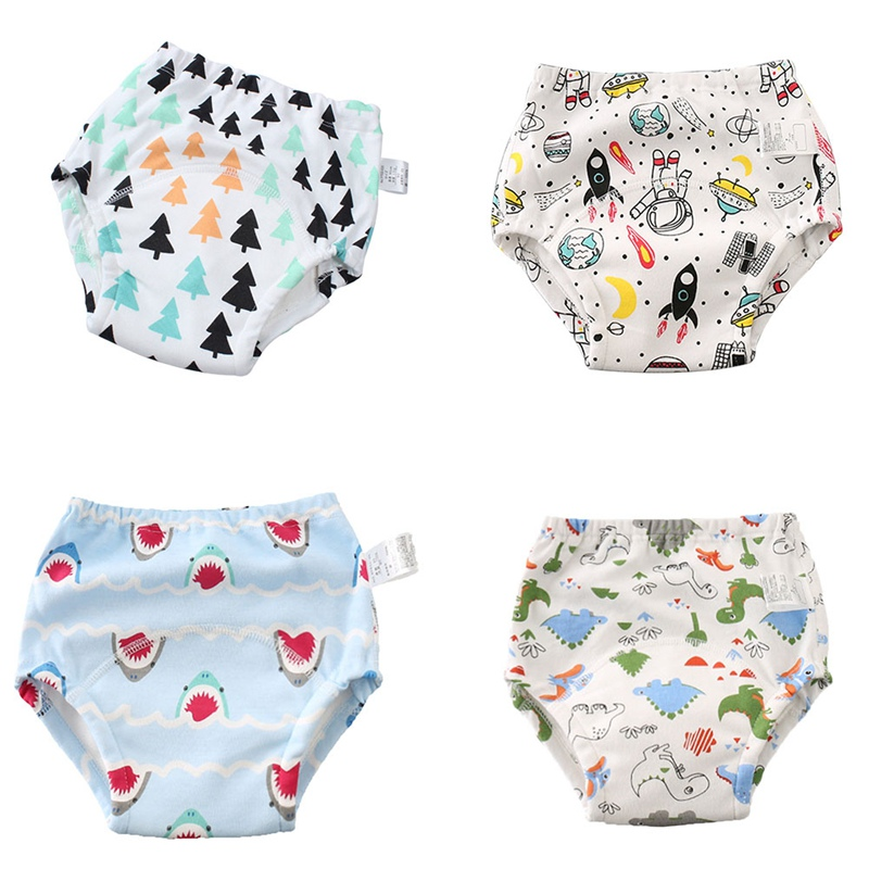 Baby Potty Training Pants Baby Nappies For Toddler Boys Girl Panties Reusable Washable Cloth Nappies Baby Cotton Diapers