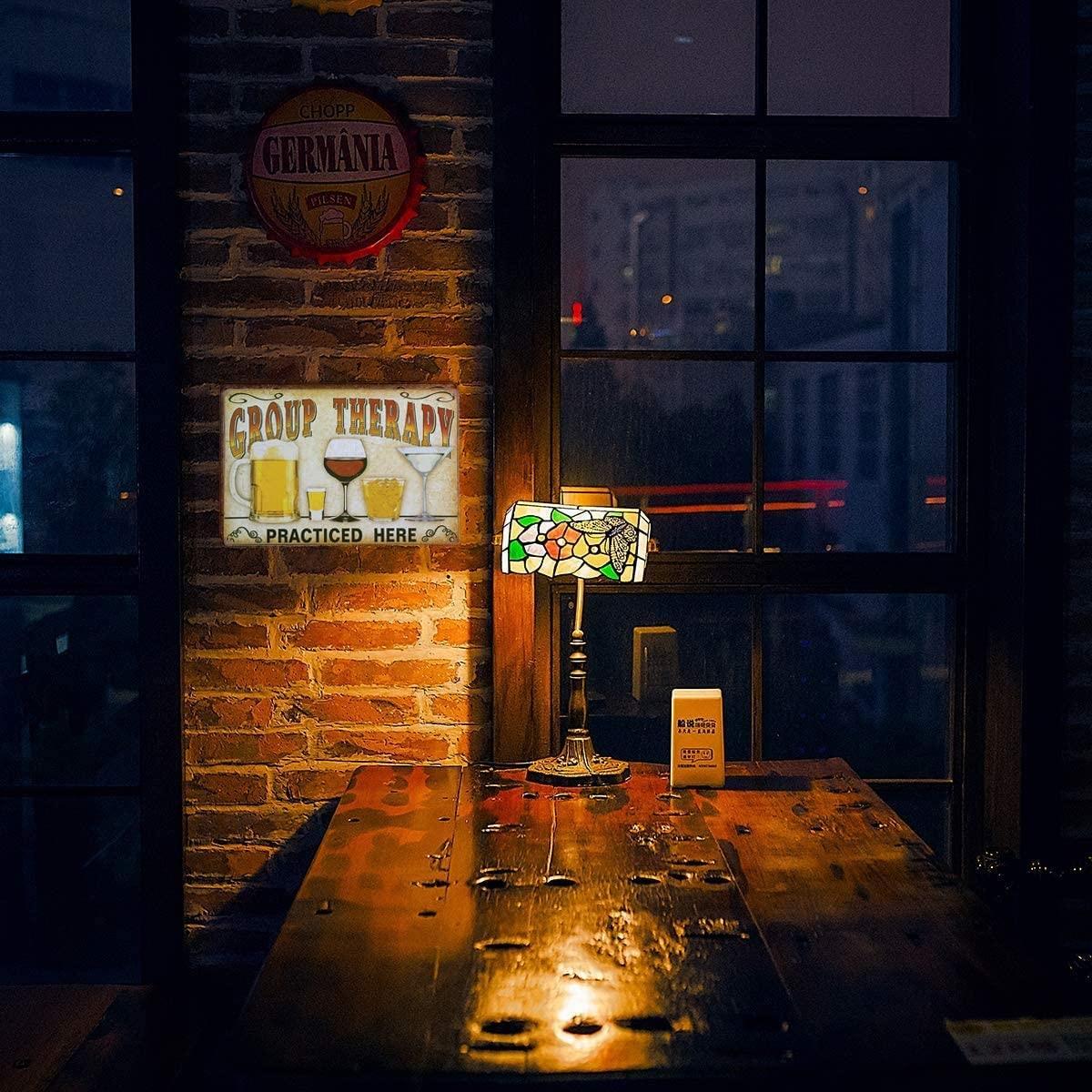 Vintage Tin Signs - Michael Jackson Thriller - Metal Sign Poster Retro Art Plaque Wall Decor for Bar Cafe Garden Bedroom Office