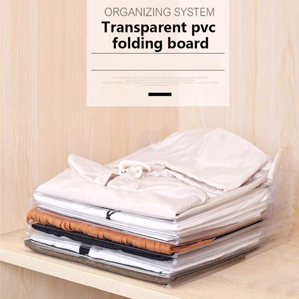 10 Layer Clothes Folding Board Creative Fast Clothes Fold Artifact Clothing Organization T-shirt Document Home Closet Organizer