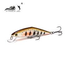 Lthtug isca de pesca artificial japonesa, isca afundável de 85mm 14.5g para peixinho, peixes truta salmão