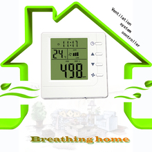CO2 air controller RS485 air quality monitoring instruments,ventilation system controller