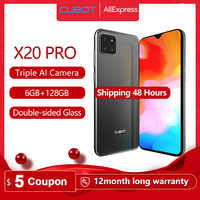 "Cubot X20 Pro 6GB+128GB AI Mode Triple Camera Smartphone 6.3"" FHD+Waterdrop Screen Android 9.0 Face ID Cellura Helio P60 4000mAh"