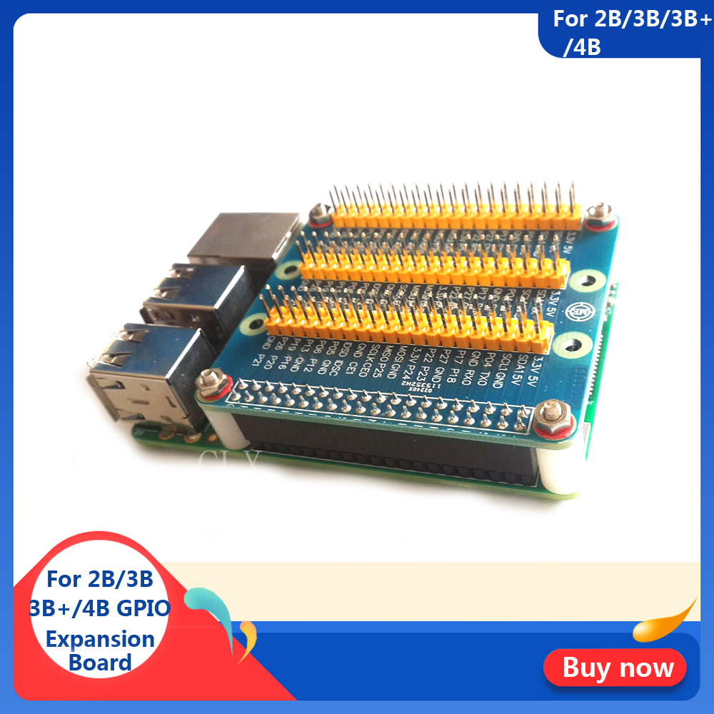 Raspberry Pi GPIO Extension Board 1 To 3 40 Pin GPIO Module For Orange Pi PC Raspberry Pi 4B/3B+/3B Raspberry Pi Zero W/1.3