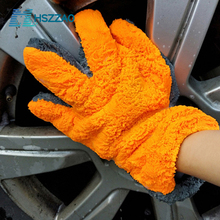 1 Pcs Ultra Luxury Microfiber Car Wash Gloves Car Cleaning Tool Home use Multi function Cleaning Brush Detailing