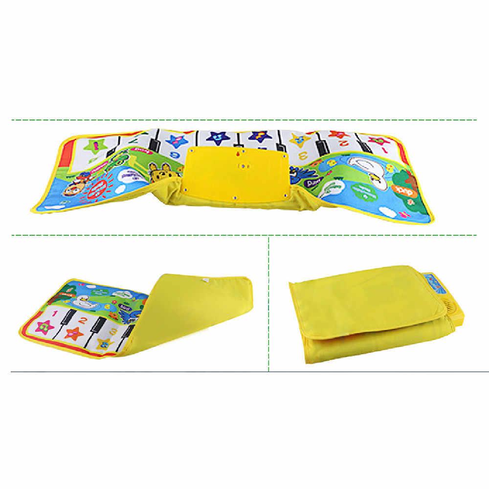 Neue Spielen Keyboard Musical Musik Singen Gym Mat Teppich Beste Kinder Baby Geschenk My Melody Kinder Spielzeug Für Kinder Игрушки