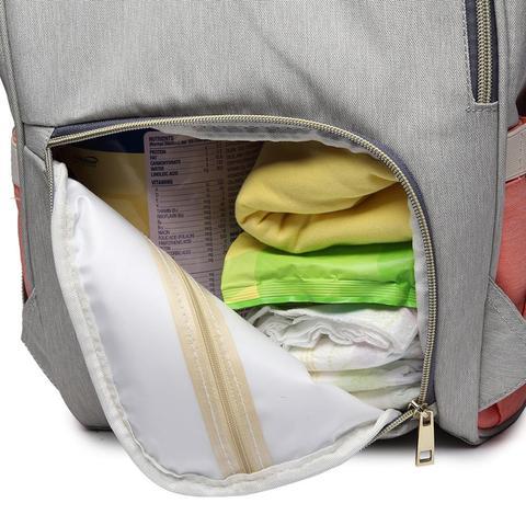 LEQUEEN 38 Baby Care Mom Convenient Bag Diaper Bags Large Capacity Mummy Maternity Baby Bag Multifunctional Nursing Bag Backpack Multan