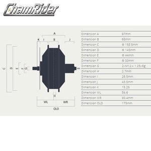 Image 2 - Bafang Fatbike Freehub 48V 350W 500W 750W 8FUN E Xe Đạp Tốc Độ Cao Không Chổi Than Bánh Răng Hub động Cơ Bánh Xe Cassette RM G060.350.DC 175 190