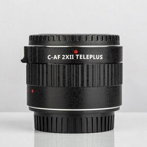 Image 1 - VILTROX – objectif C AF avec grossissement 2X, pour Canon EOS EF, pour appareil photo DSLR
