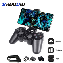 Wireless Gamepad For Android Phone/PC/PS3/TV Box Joystick 2.4G Wireless Joystick Game Controller For Xiaomi Smartphone Accessory terios s3 bluetooth gamepad for android wireless joystick gaming controller black for android smartphone android tv box
