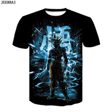 New Dragon Ball Z Goku Black Vegeta 3D T-shirt Men 2020 Summ
