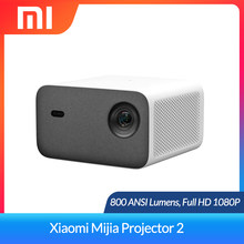 Xiaomi Projector 2 Full HD 1080P Projector 800 ANSI Support 4K Video Android WiFi Beamer Home Theater Mijia