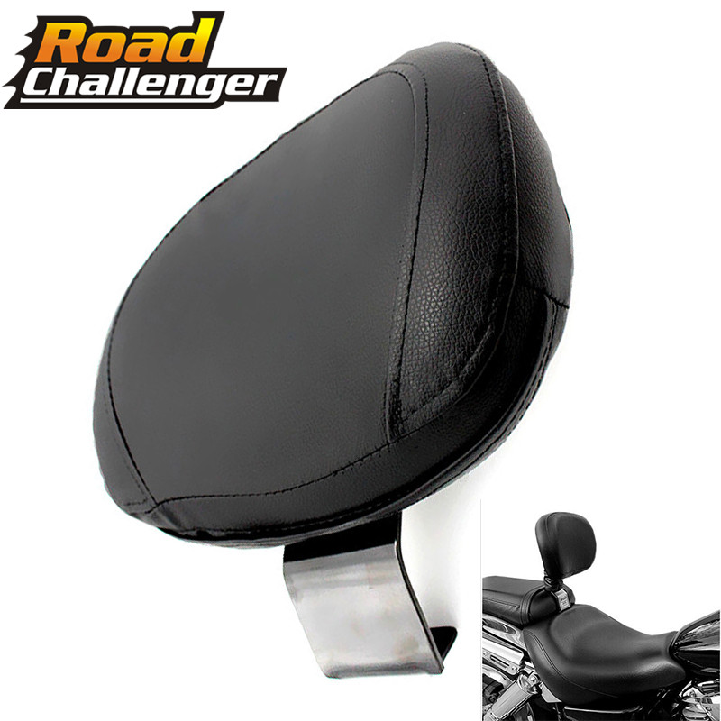 Motorcycle Driver Rear Backrest Cushion Pad For Suzuki Volusia VL400 VL800 Boulevard C50