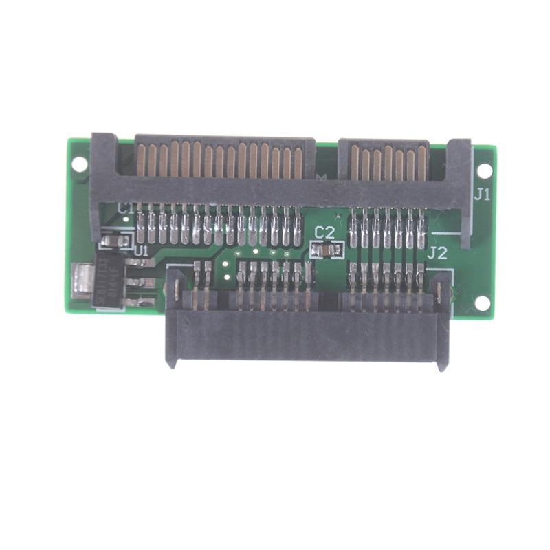New 1.8 Inch Micro SATA HDD SSD 3.3V to 2.5 Inch 22PIN SATA 5V Adapter