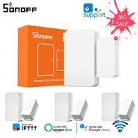 SONOFF SNZB-04 ZigBee Drahtlose Tür/Fenster Sensor Detektor Hause Smart Sicherheit System Arbeit mit eWeLink APP Alexa Google Hause