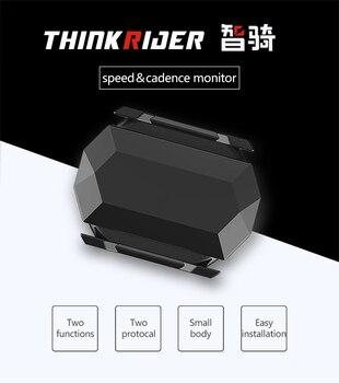 ANT + capteur de vitesse et de Cadence moniteur Bluetooth 4.0 capteur de vitesse pour Thinkrider X7 X5 formateur pour Gramin Zwift cyclisme applications appareils