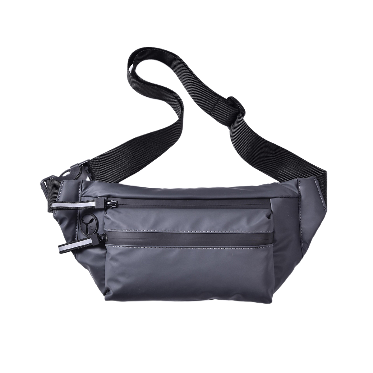 NEW 2020 Men's And Women's Universal Waist Bag PU Leather Waterproof Fanny Pack Outdoor Sports Hip-hop Chest Bag