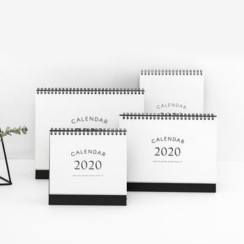 Simplicity agenda 2020 planner Table Calendar weekly planner Monthly To Do List Desktop Calendar office supplies