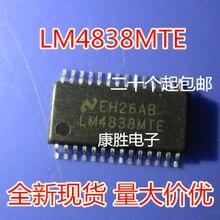 10 шт./лот LM4838MTE LM4838 TSSOP