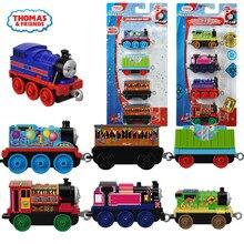 Trenes magnéticos de metal para niños, modelos de bisutería para niños, de 3 a 4 Uds.