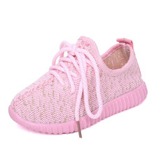 Summer Kids Shoes For Girls Breathable Sneakers Boys Outdoor