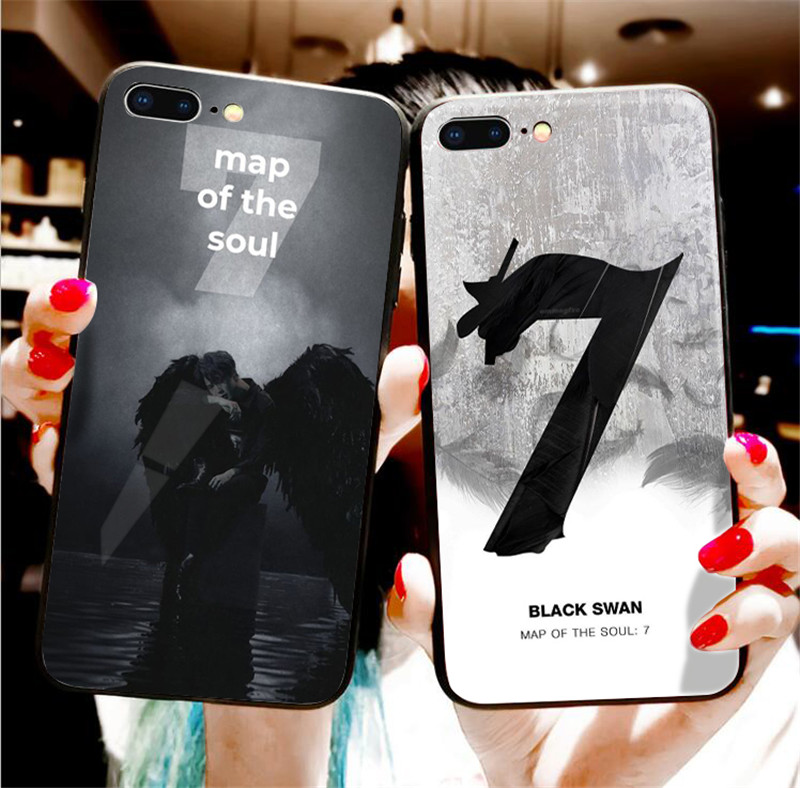 BTS Classic Phone Case For iPhone 11 pro, XR, 8, 7 Plus, 6S, 6 Plus, & XS Max