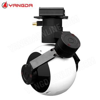 3 osi gimbal aparat z zoomem 30X optyczny dla drone uav vtol puszczania samolotów samoloty antena inspekcja przemysłowa poszukiwania geodezyjne tanie i dobre opinie JUANTEC 360 x 220° O 2MP 1080 p (full hd) MicroSD TF 848g 1 2 8 inch 2 13MP CMOS SENSOR 3s-4s power input 1080P video out