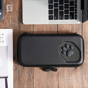 Image 1 - Nintend Switch Case Cat Claw CP Storage Bag NS Silicone Hard Shell Cover Box For Nintendo Switch Lite Game Console Accessories