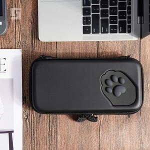 Image 1 - Nintendo anahtarı durumda kedi pençe CP saklama çantası NS silikon sert kabuk kapak kutusu Nintendo anahtarı için Lite oyun konsolu aksesuarları