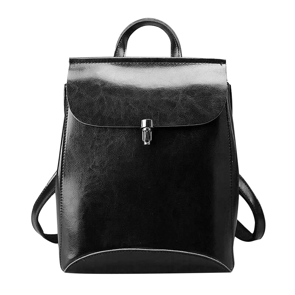 H72a4097c060a4d0c9849057b975c383ch - Fashion Ladies Shoulder Leather Multi-Layer Backpack Women's Shoulder Bag Black