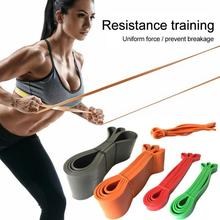 Yoga Pull Ring Training High Elastic Ring Resistance Band Fitness Beautiful Buttocks Yoga Fitness Squat Exercise Equipment
