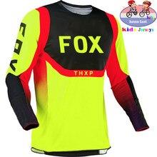 Mountain bike FOX kids fuera de carretera ATV racing camiseta soy RF bicicleta jersey Motocross DH MX Ropaniños