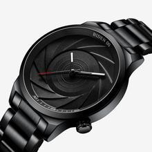 Fashion Men Watches BIDEN Brand Casual Creative minimalism Mans Wristwatch Waterproof Quartz Watch