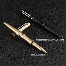 New Portable Tactical Pen Glass Breaker EDC Tool Business Writing Pen For Women/Men Outdoor Self-Defense Emergency Use Gift