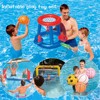 Water Inflatable Toy Swimming Pool Basketball Volleyball Handball PVC Plastic Nylon Mesh Water Ball Play Model Set for Adult Chi