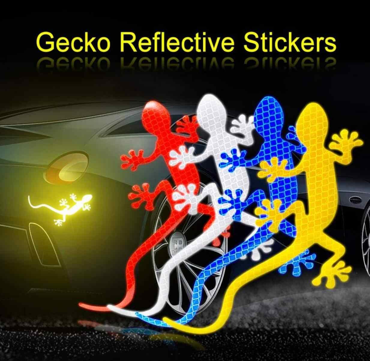 Fita automotiva refletora gecko, fita adesiva para carros ford st focus 2 focus 3 mondeo fiesta kuga mk2 mk3 mk4