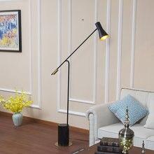Nordic современный дизайн большой напольный светильник дом стоящий