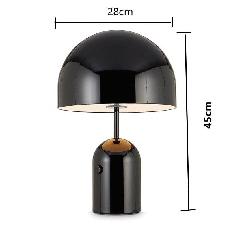 forma cogumelo lâmpada decoração para casa design lâmpada de cabeceira